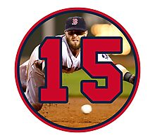 Dustin Pedroia Red Sox Photographic Print