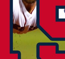 Dustin Pedroia Red Sox Sticker