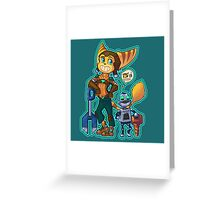 Ratchet and Clank - Destructive Duo Greeting Card