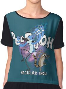 Regular Show Chiffon Top