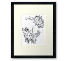 fontaine2 (digital landscapes) Framed Print