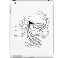 Human sense schema iPad Case/Skin