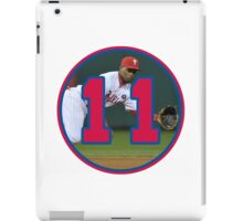 Jimmy Rollins Phillies Number 11 iPad Case/Skin