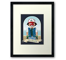 The Son of Pokeball Framed Print