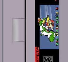 Super Mario World Cartridge Galaxy Case by LumpyHippo