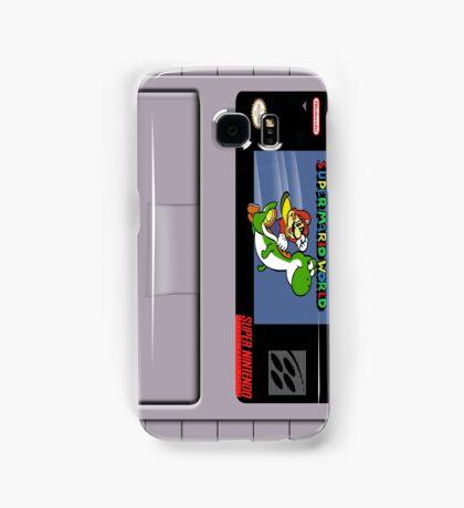Super Mario World Cartridge Galaxy Case Samsung Galaxy Case/Skin