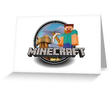 "minecraft"" Greeting Card"
