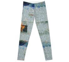 No Spanking The Monkey©WEAR High Def Abstract Paint Leggings