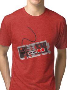 Control freak - NES Tri-blend T-Shirt