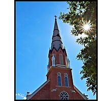 Church Steeple Photographic Print