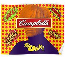 Andy Warhol Comic  Poster