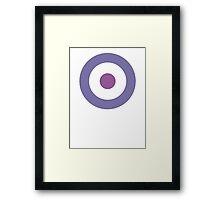 Hawkguy Target Framed Print