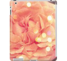 Secret Garden | Peach rose iPad Case/Skin