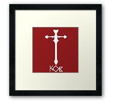 Knights of Blood Oath Framed Print