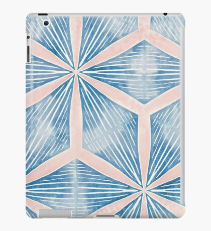 Diamonds in Blue and Pink iPad Case/Skin