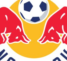 New York Red Bulls Logo Sticker