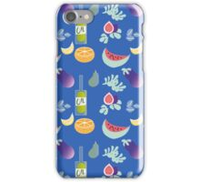 Kitchen Pattern Sicily iPhone Case/Skin