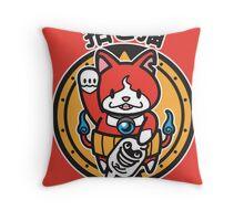 Maneki Nyan Throw Pillow