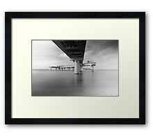 Sea bridge Framed Print