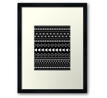 SE Black Widow Framed Print