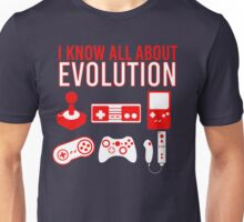 I Know All About Evolution Unisex T-Shirt