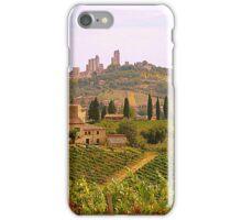 Approaching San Gimignano.................................Tuscany iPhone Case/Skin
