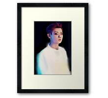 Chanyeol Overdose Painting Framed Print