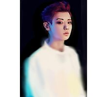Chanyeol Overdose Painting Photographic Print
