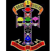 Zords N Rangers Photographic Print
