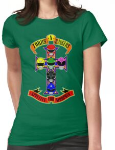 Zords N Rangers Womens Fitted T-Shirt