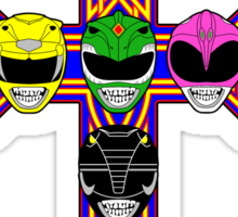 Zords N Rangers Sticker