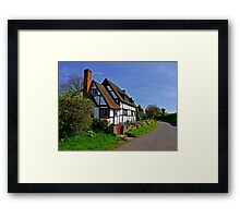 Chocolate Box Cottage Framed Print