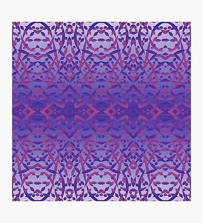 Zen Azul Photographic Print