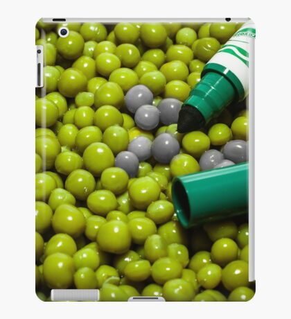 Where's my other green marker? iPad Case/Skin