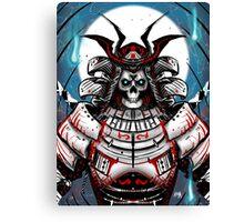 Undead Samurai Canvas Print