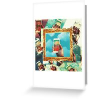 A Blond Perspective. Greeting Card