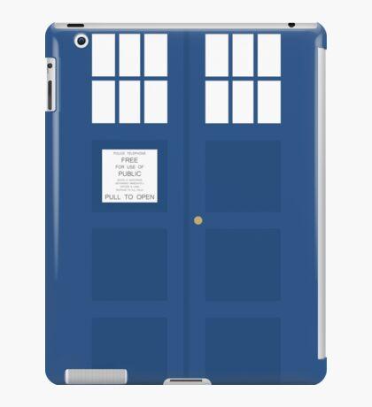 Minimal TARDIS iPad Case/Skin