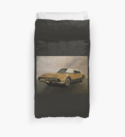 Oldsmobile Toronado Painting Duvet Cover