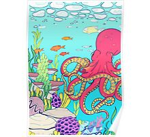 Let Me Octopi Your Heart Poster