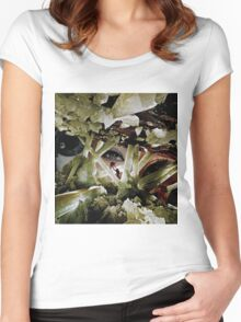 Crystal Eyes Women's Fitted Scoop T-Shirt