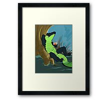 The Big Chill-out Framed Print