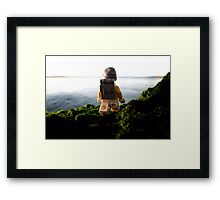 Pirate walkabout Framed Print