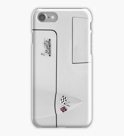C2 Corvette 427 hood - abstract - High Contrast iPhone Case/Skin