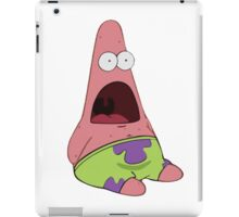 Surprised Patrick Star  iPad Case/Skin