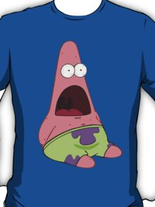 Surprised Patrick Star  T-Shirt