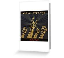 Evilyn Strange Evilution Greeting Card