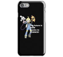 The future is NOW thanks to SCIENCE! iPhone Case/Skin