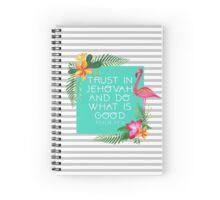 2017 YEAR TEXT (Design no. 3) Spiral Notebook
