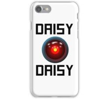 DAISY DAISY - HAL 9000 iPhone Case/Skin