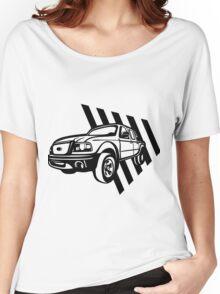 Van / truck-geometric Women's Relaxed Fit T-Shirt